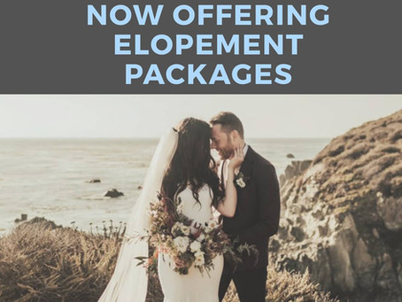 New Elopement Packages