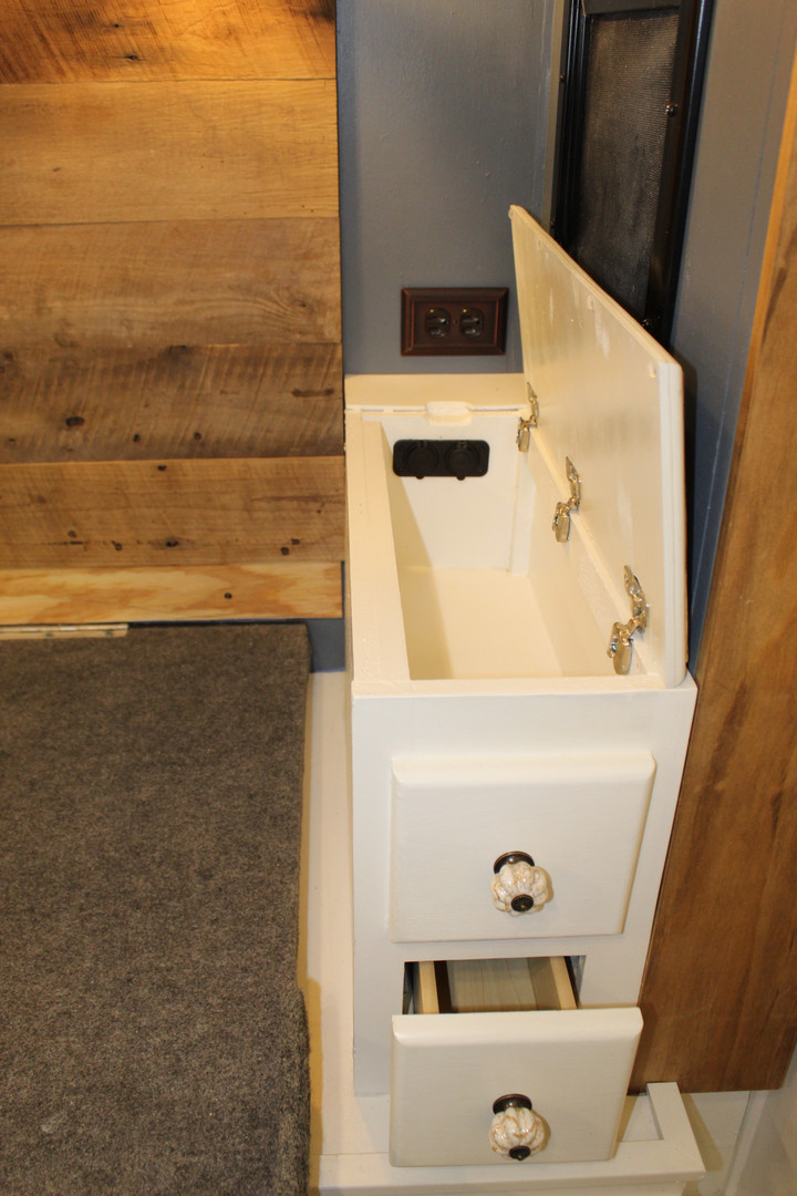 After - Custom Nightstand for CPAP Machine