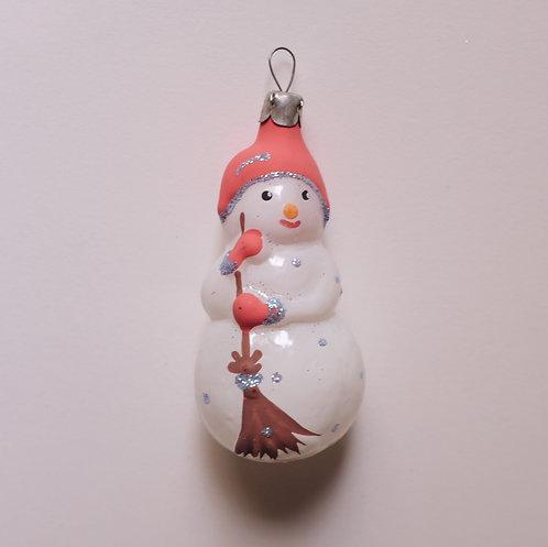 Ёлочная игрушка, снеговик