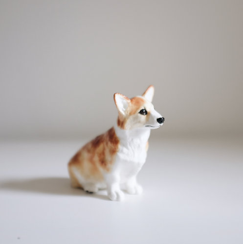 Коллекционная статуэтка, щенок корги