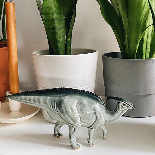 Динозавр из керамики