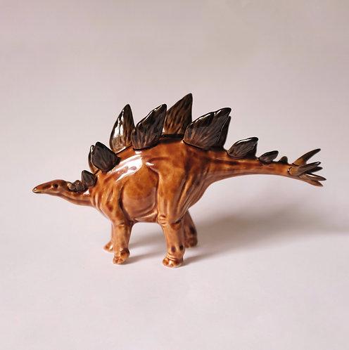 Стегозавр коричневый, редкий