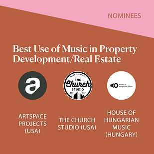 W:NOMINEES 842 MUSIC CITIES AWARDS Nomin