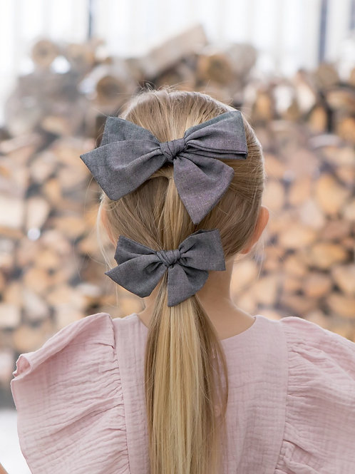 Summer night Giant bow pin