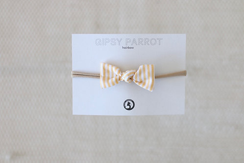 Lemon stripes baby knot panta