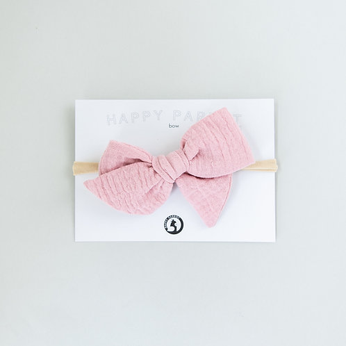 French rose -BOYS Bow tie