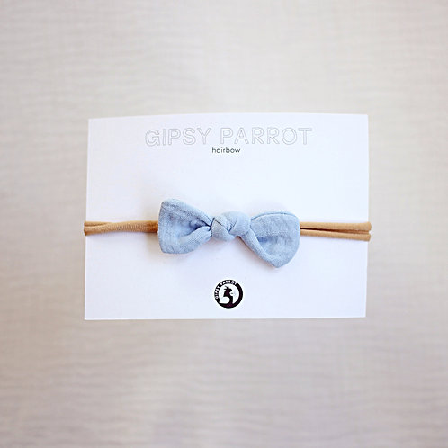 Light blue Baby knot -panta