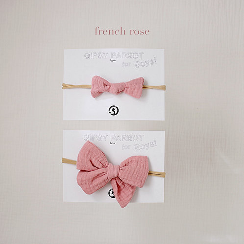 French rose / Boys bowtie