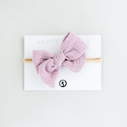 Spring violet -BOYS Bow tie