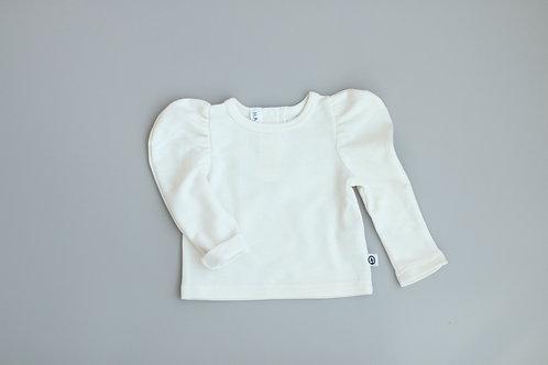Creamy butterfly sweatshirt