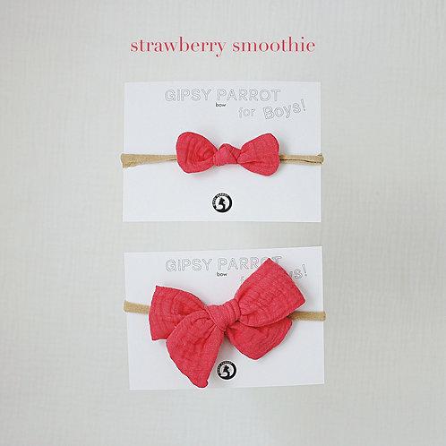 Strawberry smoothie / Boys bowtie