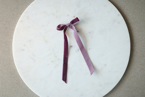 Vintage violet ribbon
