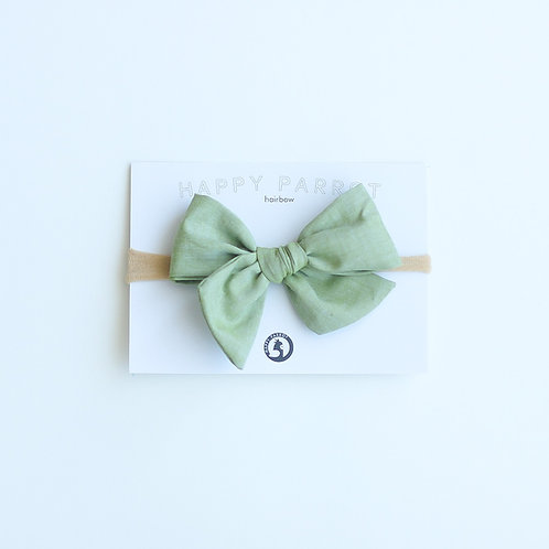 Olive green head band