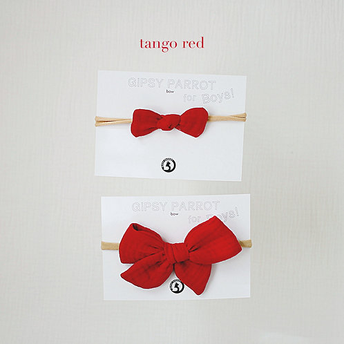 Tango red / Boys bowtie