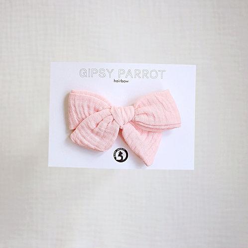 Peachy Pink Rusettipinni