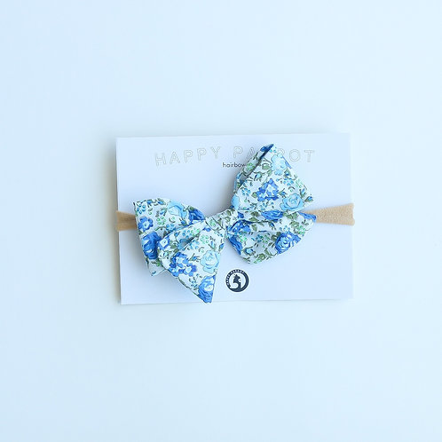 Blue&green blossom rusettipanta
