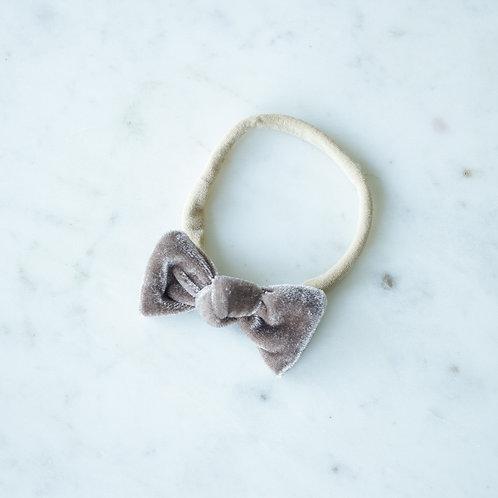 Almond velvet baby knot-panta