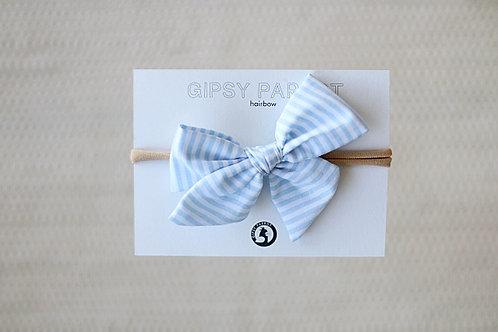 Light blue stripes rusettipanta