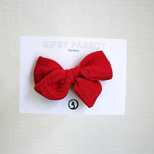 Tango red rusettipinni