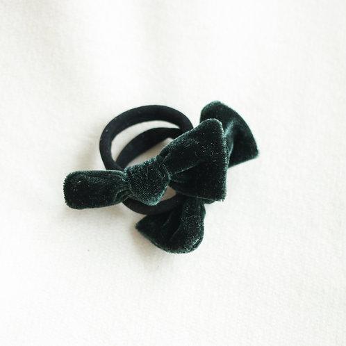 Forest velvet hairbands x 2