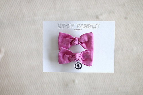 Candy pink baby pinnit 2 kpl