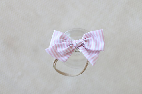 Light pink stripes Bowtie for boys