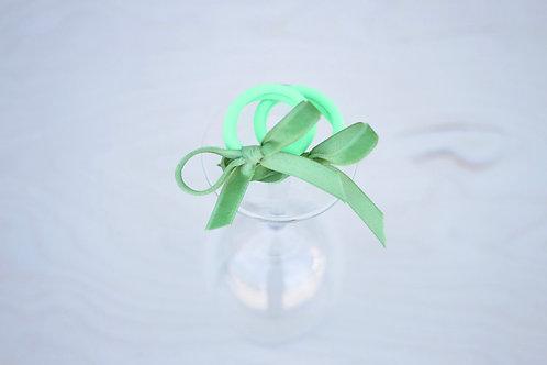 Granny Smith ribbon x 2