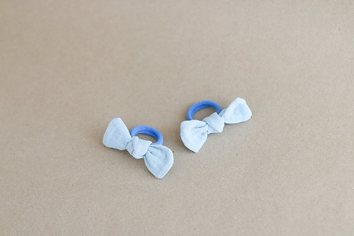 Blue BABY -hairbands x 2