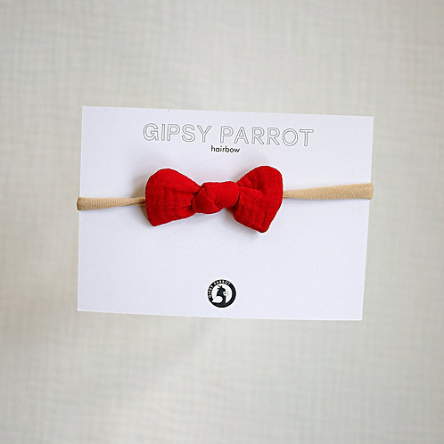 Lipstick Red Baby knot -panta