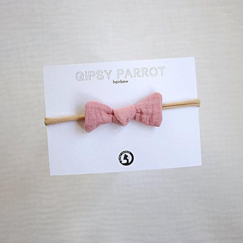 French Rose Baby knot -panta