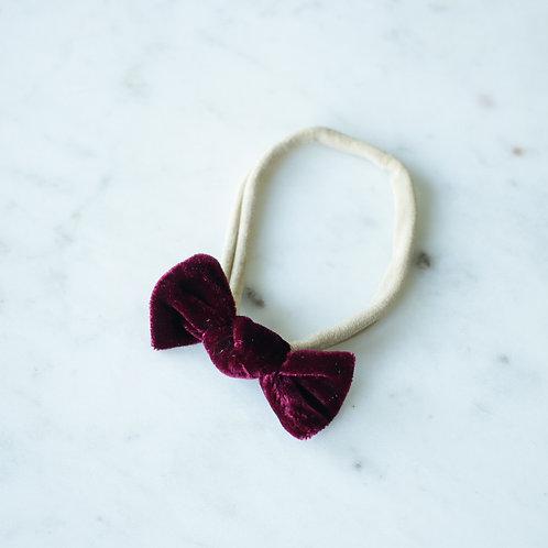 Rouge velvet baby knot-panta