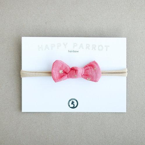 Kultatähdet -baby knot -panta