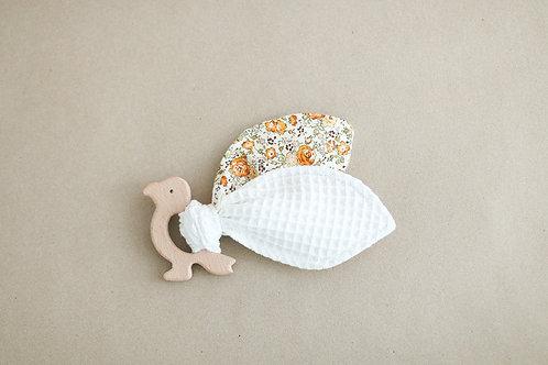 Parrot -vauvan lelu, white