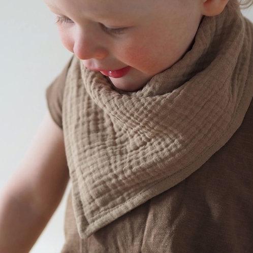 Beige boho scarf