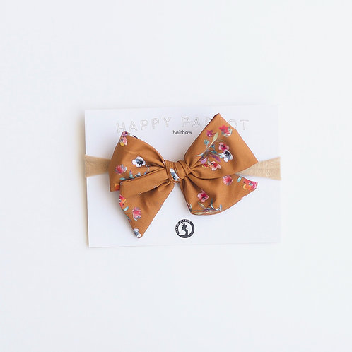 Vintage pastel Rusettipanta