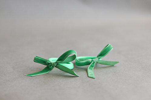 Granny Smith ribbon x 2