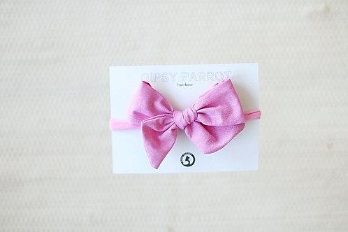 Candy pink rusettipanta