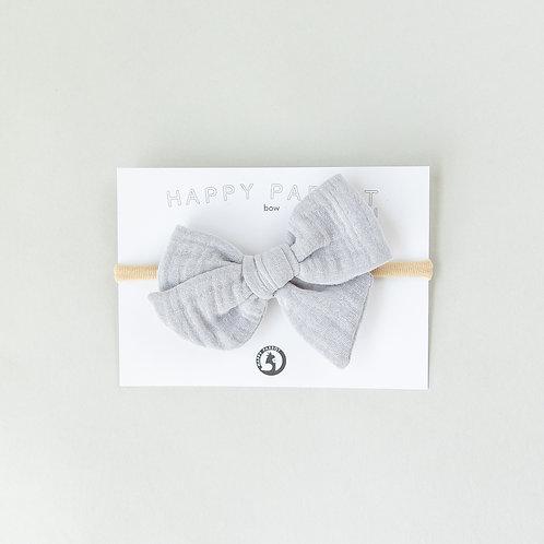 Light gray -BOYS Bow tie