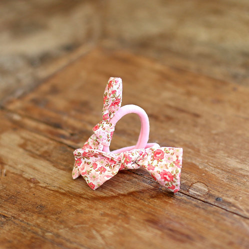 Pink flowers hairbands