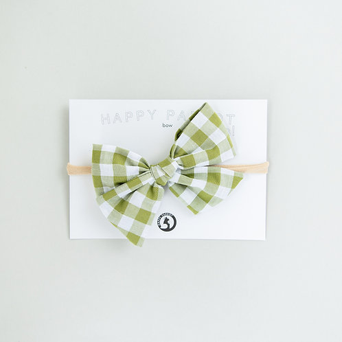 Bottle green -BOYS Bow tie