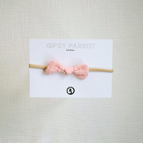 Peachy Pink Baby knot -panta