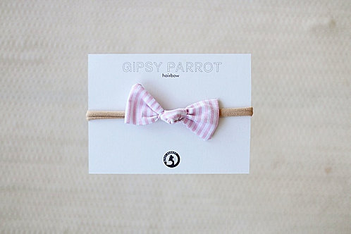 Light pink stripes baby knot panta