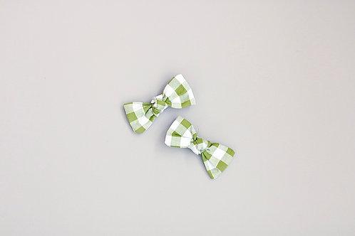 Bottle green Babypinnit 2kpl