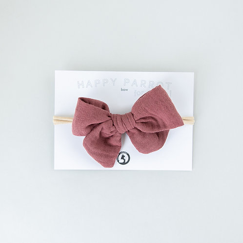 Rosewood -BOYS Bow tie