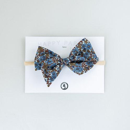 Vintage blue -BOYS Bow tie