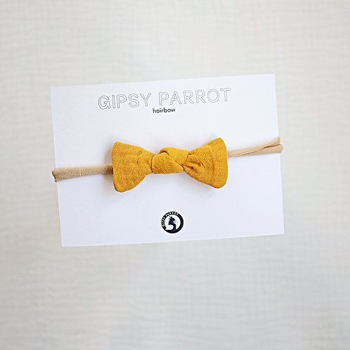 Curry Yellow Baby knot -panta