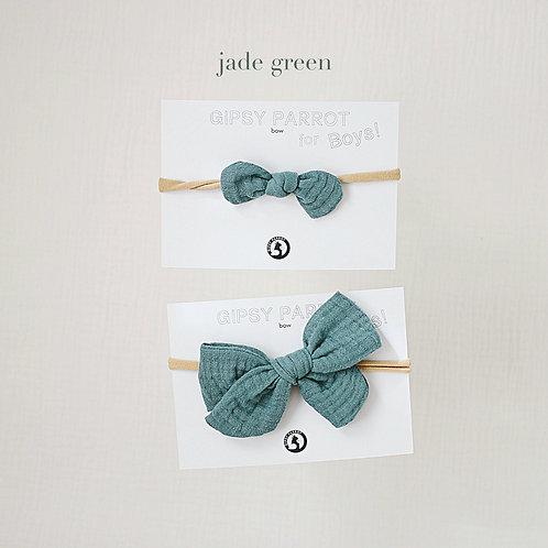 Jade Green / Boys bowtie