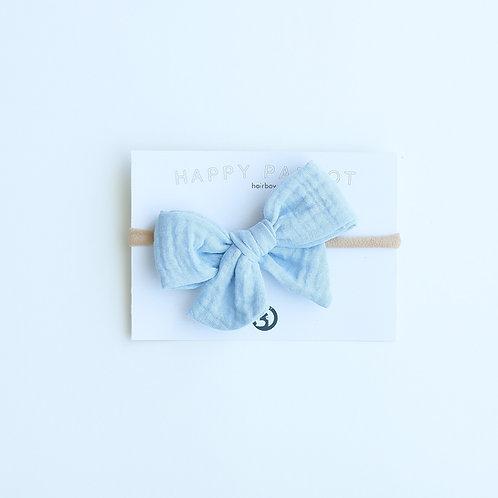 Light blue rusettipanta