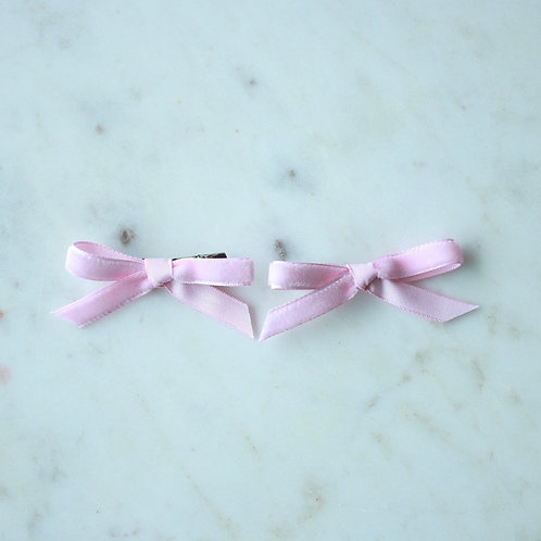 Light pink Ribbons X 2