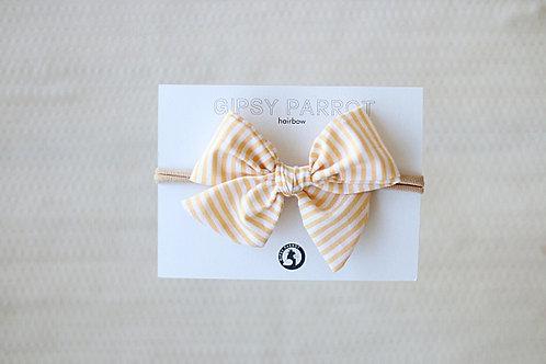 Lemon stripes rusettipanta